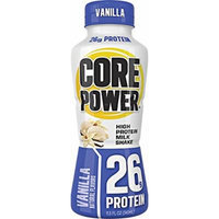 Core Power High Protein Milk Shake, Vanilla, 26g of protein, 11.5-ounce bottles (pack of 12)