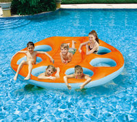 Poly Group Swim Time Party Island Inflatable Raft NT1557