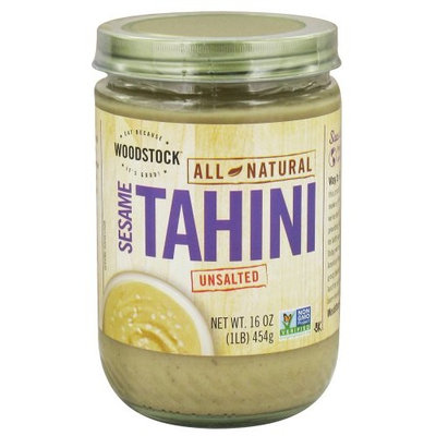 Woodstock Farms Woodstock BG19702 Woodstock Sesme Tahini,Unsltd - 12x16OZ