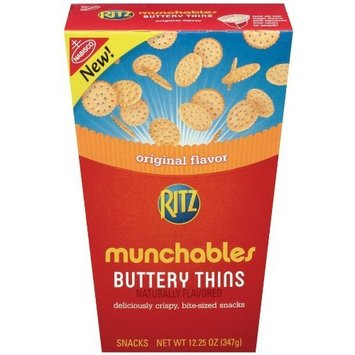 Ritz Munchables Buttery Thins, 12.25-Ounce (Pack of 3)