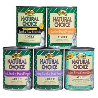 Nutro Natural Choice Chicken, Rice & Oatmeal Formula Canned Dog Food