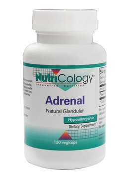 Nutricology/allergy Research NutriCology Adrenal Natural Glandular 150 Vegetable Capsules