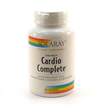 Solaray Cardio Complete Extra Strength - 90 Capsules - Other Supplements
