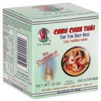 VV Foods Canh Chua Thai (Tom Yum Soup Base), 10-Ounce Packages (Pack of 4)