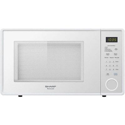 Sharp 1.1 Cu. Ft. Microwave-White