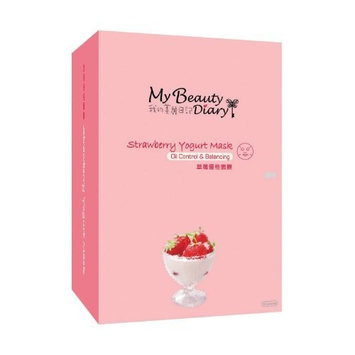Wintec My Beauty Diary Strawberry Yogurt Mask II, 10 pcs