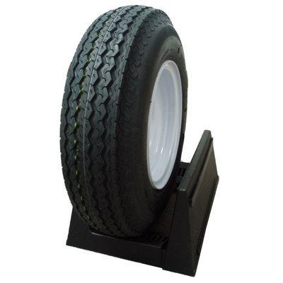 David Shaw Silverware Na Ltd HI-RUN Utility Trailer Tire/Whl Assy 480 8 4hole - David Shaw Silverware NA LTD