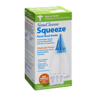 Sinu Cleanse Squeeze Nasal Wash Bottle