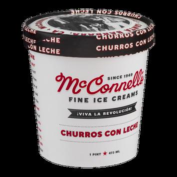 McConnell's Fine Ice Creams Churros Con Leche