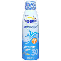Coppertone Wet 'n Clear Continuous Spray Sunscreen