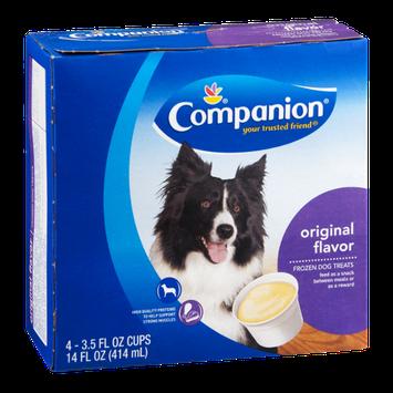 Companion Frozen Dog Treats Original - 4 CT
