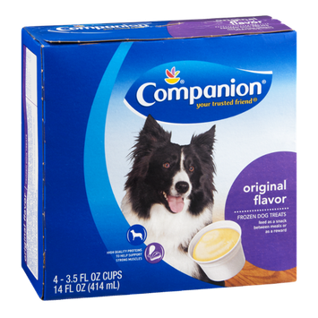 Companion Frozen Dog Treats Original - 4 CT