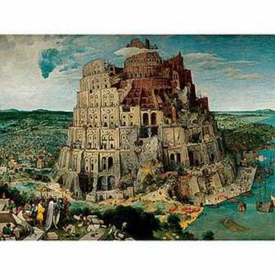 Ravensburger The Tower of Babel 5000 piece Jigsaw Puzzle Ages 10+