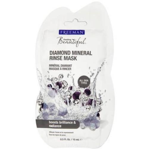 Freeman Feeling Beautiful Diamond Mineral Rinse Mask, 0.5 fl oz