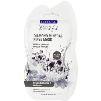 Freeman Feeling Beautiful Diamond Mineral Rinse Mask, 0.5 fl oz