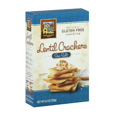 Mediterranean Snacks Sea Lentil Crackers