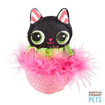 Martha Stewart PetsA Black Cat Wobble Toy