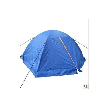 Voskos Double person double layers double aluminum pole tents double open the door with snow skirt and uv protection