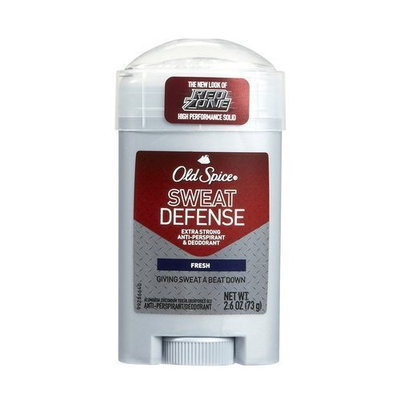 Old Spice Spice Red Zone Sweat Defense Antiperspirant & Deodorant-Fresh-2.6 oz (Pack of 5)