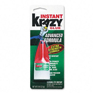 Krazy Glue Advanced Formula, .18oz, Super Glue Liquid