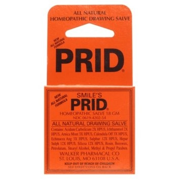 Smile's PRID Homeopathic Drawing Salve