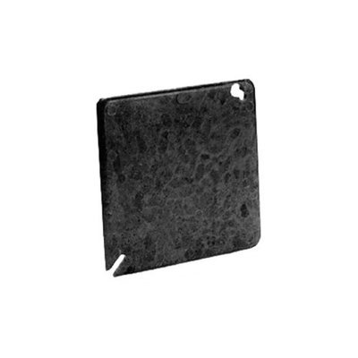 Thomas and Betts 4041 4-inch Square Two Gang Blank Box Cover