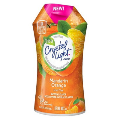 Crystal Light Mandarin Orange Tea Liquid Drink Mix