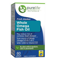 Pure Life Fresh Alaskan Omega Fish Oil