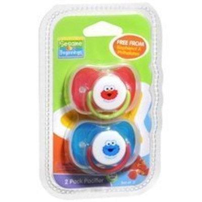 Sesame Street Sesame Beginnings - 2 Pack Pacifier (6-12 Months)