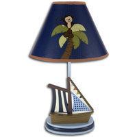 NoJo Ahoy Mate! Lamp & Shade Blue