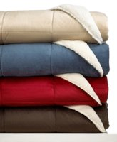 Jla Home Reversible Sherpa Twin Comforter Bedding