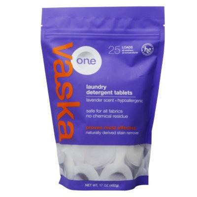 Vaska One Lavender Laundry Detergent Tablet, 17 oz