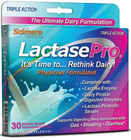 Scimera BioScience Lactase Pro Dairy Digestive Enzyme Pack of 30