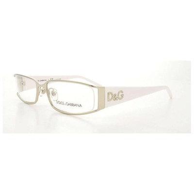 Dolce & Gabbana Eyeglasses DD 5010 062 Silver 52MM