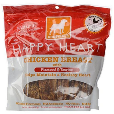 Dogswell - Happy Heart With Flaxseed & Taurine Chicken Breast Jerky - 15 oz.