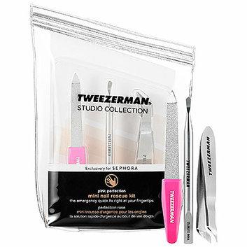 Tweezerman Hot Pink Nail Rescue Kit