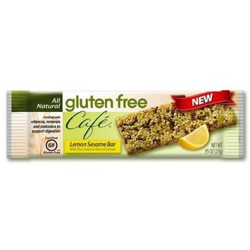 Gluten Free Cafe Lemon Sesame Bar, .95 Ounce Packages (Pack of 12)