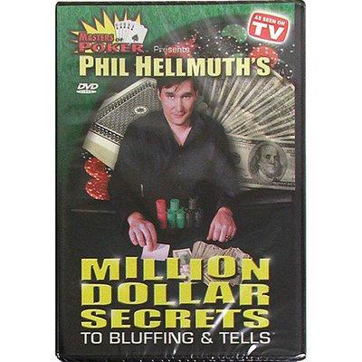 Trademark Commerce Trademark Global DVD - Phil Hellmuth's Million Secrets To Bluffing & Tells