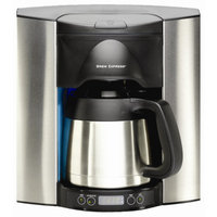 Brew Express 10 Cup Built-In-The-Wall Self-Filling Coffee and Hot Beverage System Stainless Steel Finish