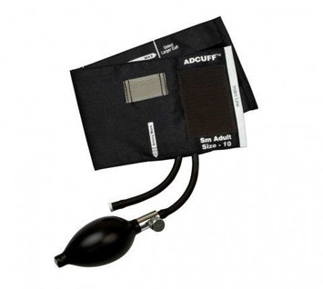 ADC 865 ADCUFF Inflation System, Small Adult, Black