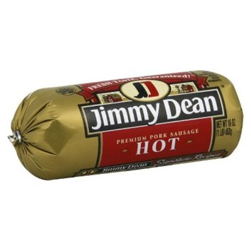 Jimmy Dean Hot Roll Sausage 16 oz