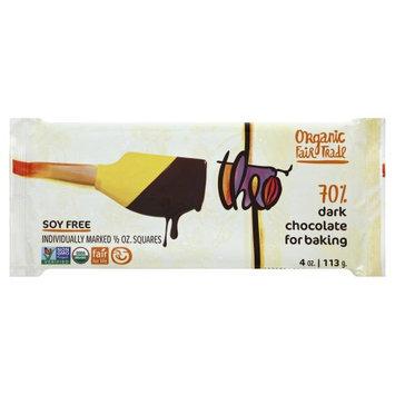 Theo Chocolate BK BAR, OG2, DRK CHOC,70%, (Pack of 10)
