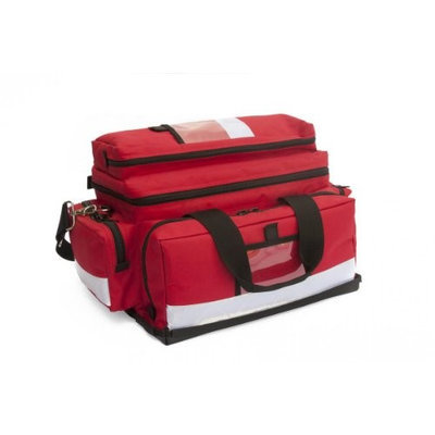 Kemp 10-104-RED Large Professional Trauma Bag Red