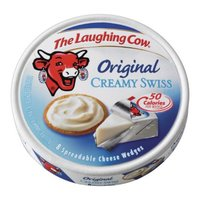 Laughing Cow The  Original Creamy Swiss Spreadable Cheese Wedges 8 ct