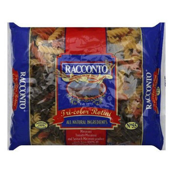 Racconto Pasta Tri-Color Rotini Spring 16 Oz Case Of 20