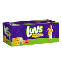 Luvs with Ultra Leakguards Big Pack Size 5 Diapers 80 Count?