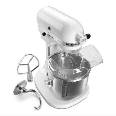 KitchenAid KSM500PSWH White Pro 500 Series 5-Quart Stand Mixer