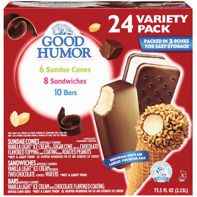 Good Humor Variety Pack, 24ct