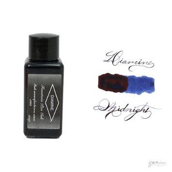 Diamine 30 ml Bottle Fountain Pen Ink, Midnight