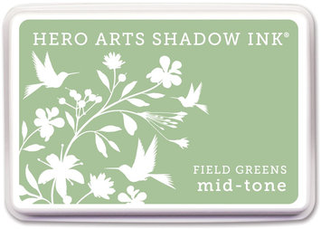 Crown Marking Equipment Co. Hero Arts Shadow Inks-Field Greens